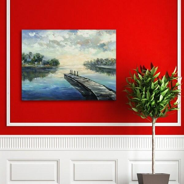 Portfolio Canvas Decor Lakeside Retreat Canvas Wall Art