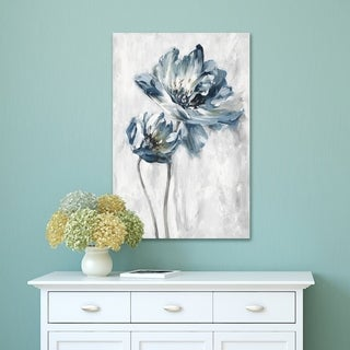 Portfolio Canvas Decor La Fleur II Light Canvas Wall Art