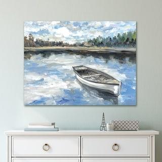 Portfolio Canvas Decor Morning Lake Canvas Wall Art
