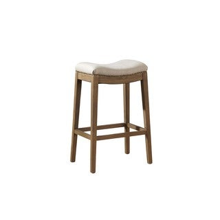 Nolan Scooped Saddle Counter Stool