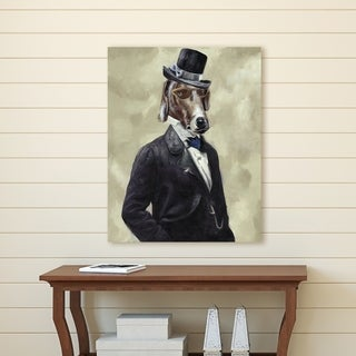 Portfolio Canvas Decor Tuxedo Dog I Canvas Wall Art