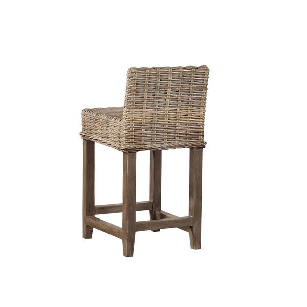 Magnificent Auger Handwoven Rattan Counter Stool Squirreltailoven Fun Painted Chair Ideas Images Squirreltailovenorg