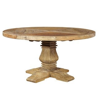 Nathaniel Top Pattern Round Dining Table