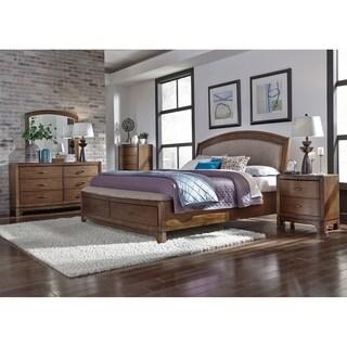Furniture of america minka iv rustic grey storage platform for Furniture of america address