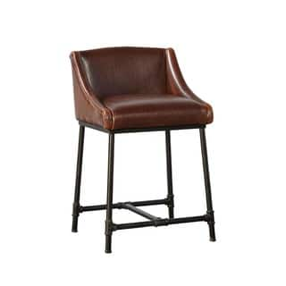 Harvey Pipe Frame Counter Stool|https://ak1.ostkcdn.com/images/products/17309671/P23557397.jpg?impolicy=medium