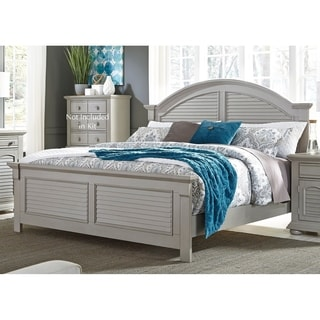Summer House II Cottage Grey Panel Bed Set