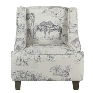 HomePop Kids' Jungle Swoop Chair|https://ak1.ostkcdn.com/images/products/17309942/P23557639.jpg?impolicy=medium