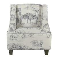 HomePop Kids' Jungle Swoop Chair
