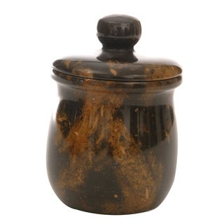 Rembrandt Home Black & Brown Jar