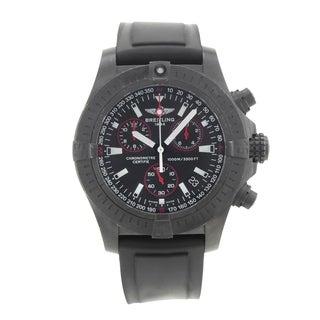 Breitling Avenger Seawolf M7339010/BA03-131S Black Steel Quartz Men's Watch