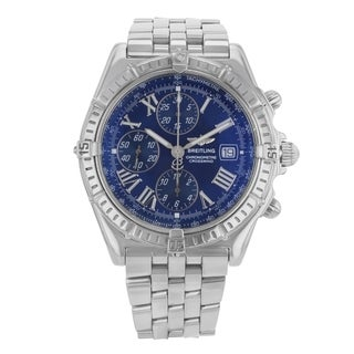 Breitling Windrider Crosswind A13355 Stainless Steel Automatic Men's Watch