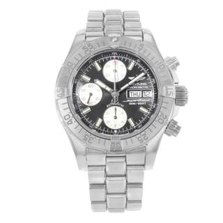 Breitling Superocean Chrono A13340 Black Dial Automatic Men's Watch