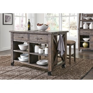 prescott valley antique tobacco planked top kitchen island   brown antique pine kitchen  u0026 dining room tables for less   overstock com  rh   overstock com