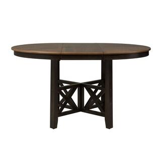 Liberty Bistro II Honey and Espresso Gathering Pedestal Table