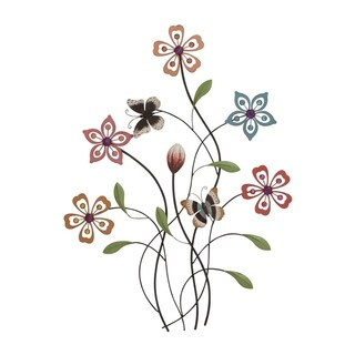Maison Rouge Lamartine Metal and Acrylic Wall Decor 20 inches x 28 inches