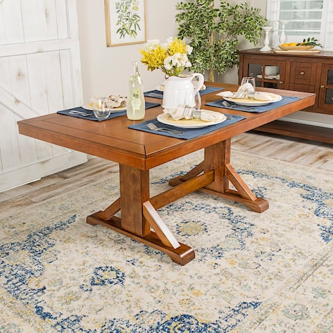 """60"""" Trestle Dining Table - 60 x 36 x 30h"""