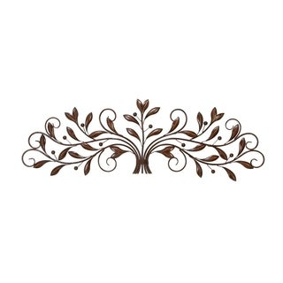 Studio 350 Metal Wall Decor 47 inches wide, 15 inches high