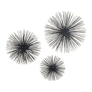 Studio 350 Metal Wire Wall Star Set of 3, 6 inches, 8 inches, 9 inches D