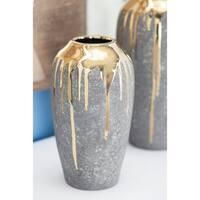 Studio 350 Ceramic Vase 6 inches wide, 12 inches high