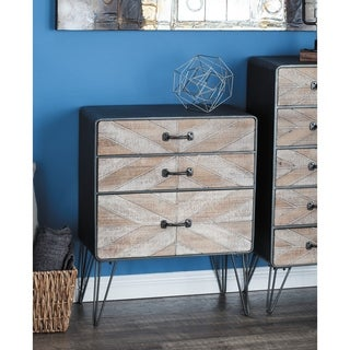 Studio 350 Metal Wood Cabinet 25 inches wide, 31 inches high