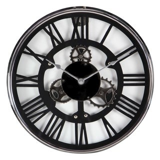 Studio 350 Stainless Steel Wall Clock 18 inches D