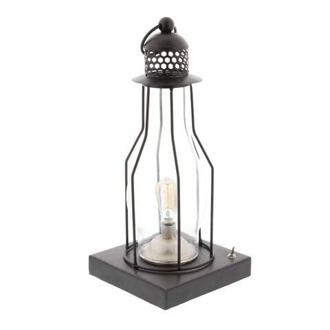 Carbon Loft Pawnee Metal LED Lantern