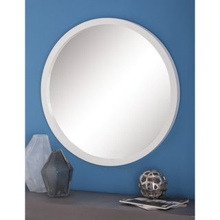 Studio 350 Wood Wall Rd Mirror 32 inches D