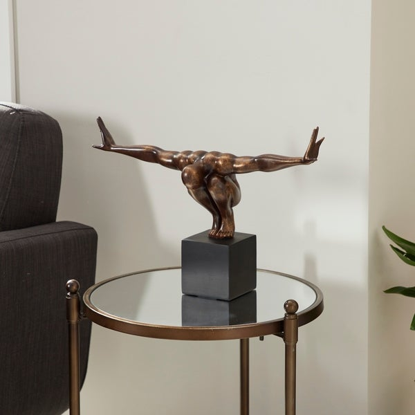 Studio 350 Polystone Figure 20 inches wide, 11 inches high