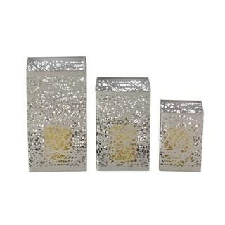 Clay Alder Home Mendota Metal Candle Holder (Set of 3)