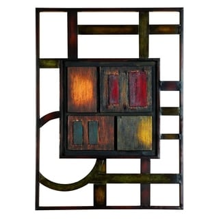 Studio 350 Metal Wall Plaque 27 inches high, 20 inches wide