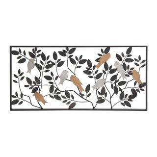 Studio 350 Metal Wall Decor 37 inches wide, 18 inches high