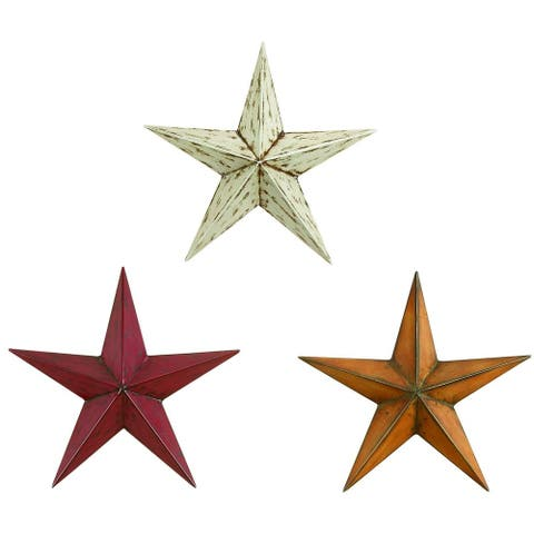 The Gray Barn Jartop Metal Stars (Set of 3)
