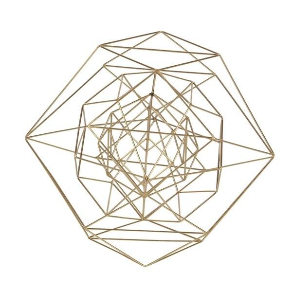 Carson Carrington Alavus Metal Wire Gold Sphere