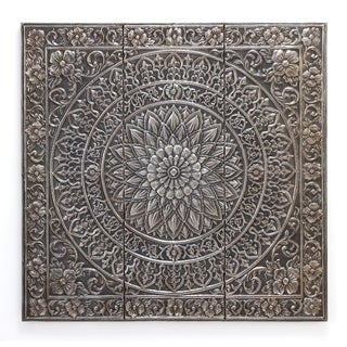 The Curated Nomad Kaltenborn Metal Mosaic Wall Decor