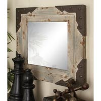 Studio 350 Wood Metal Mirror 24 inches high, 24 inches wide