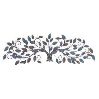 Studio 350 Metal Wall Decor 51 inches wide, 16 inches high
