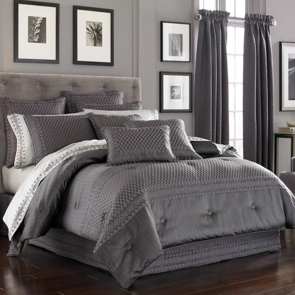 Five Queens Court Beaumont Embroidered 4-Piece Comforter Set