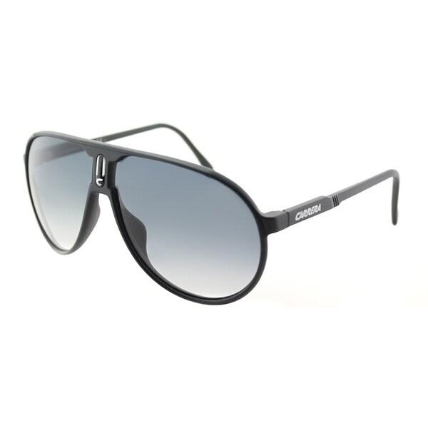 0fb2bdb2b4 Carrera Aviator Champion L DL5 Unisex Matte Black Frame Grey Gradient Lens  Sunglasses