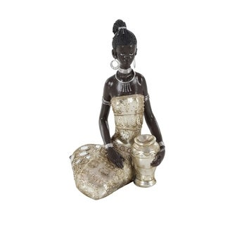 Studio 350 PS African Lady 7 inches wide, 10 inches high