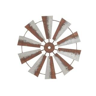 The Gray Barn Jartop Metal Windmill Wall Decor