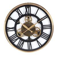 Carbon Loft Maunchly Stainless Steel 25-inch Wall Clock