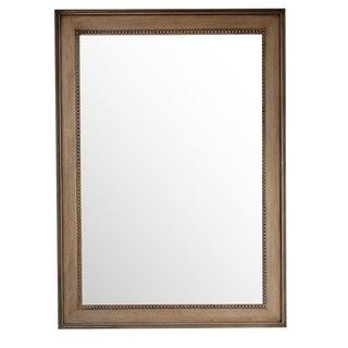 """Bristol 29"""" Rectangular Mirror, White Washed Walnut - whitewashed walnut - 29""""w x 40""""h"""