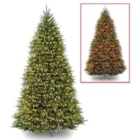 12 ft. PowerConnect(TM) Dunhill® Fir Tree with Dual Color® LED Lights