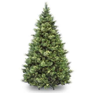 Link to 6.5 ft. Carolina Pine Tree with Clear Lights Similar Items in Christmas Greenery