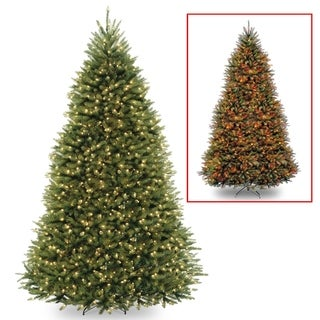 10 ft. PowerConnect(TM) Dunhill® Fir Tree with Dual Color® LED Lights