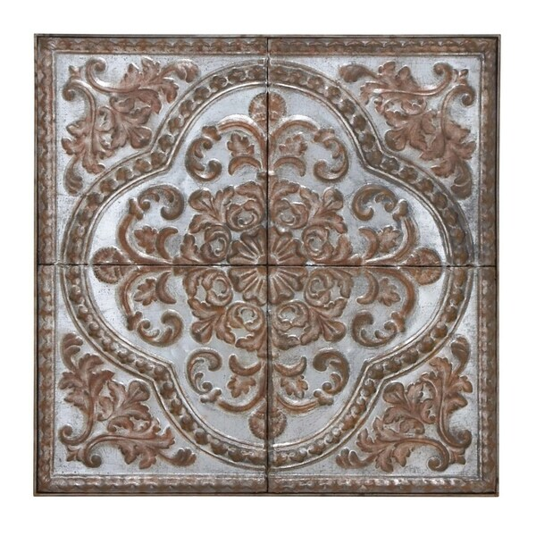 Studio 350 Metal Wall Plaque 36 inches wide, 36 in