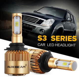 (2PCS/SET) S3-SERIES 9006/HB4 PHILIPS CSP HEADLIGHT CONVERSION BULB