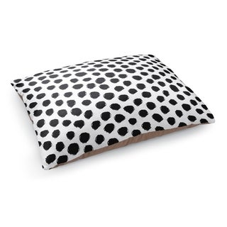 Kavka Designs Black/White Dalmatian White Pet Bed