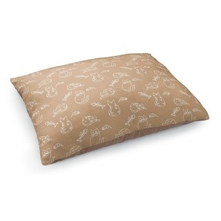 Kavka Designs Brown/Tan Doodle Cat Pet Bed