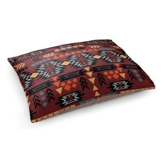 Kavka Designs Brown/Blue/Orange/Yellow Tek Pet Bed By Terri Ellis